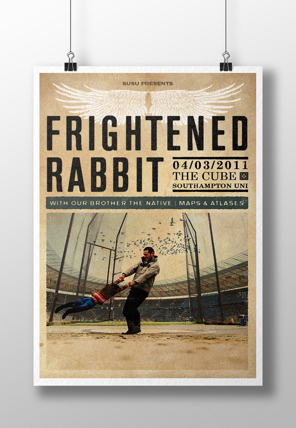 Frightened Rabbit poster