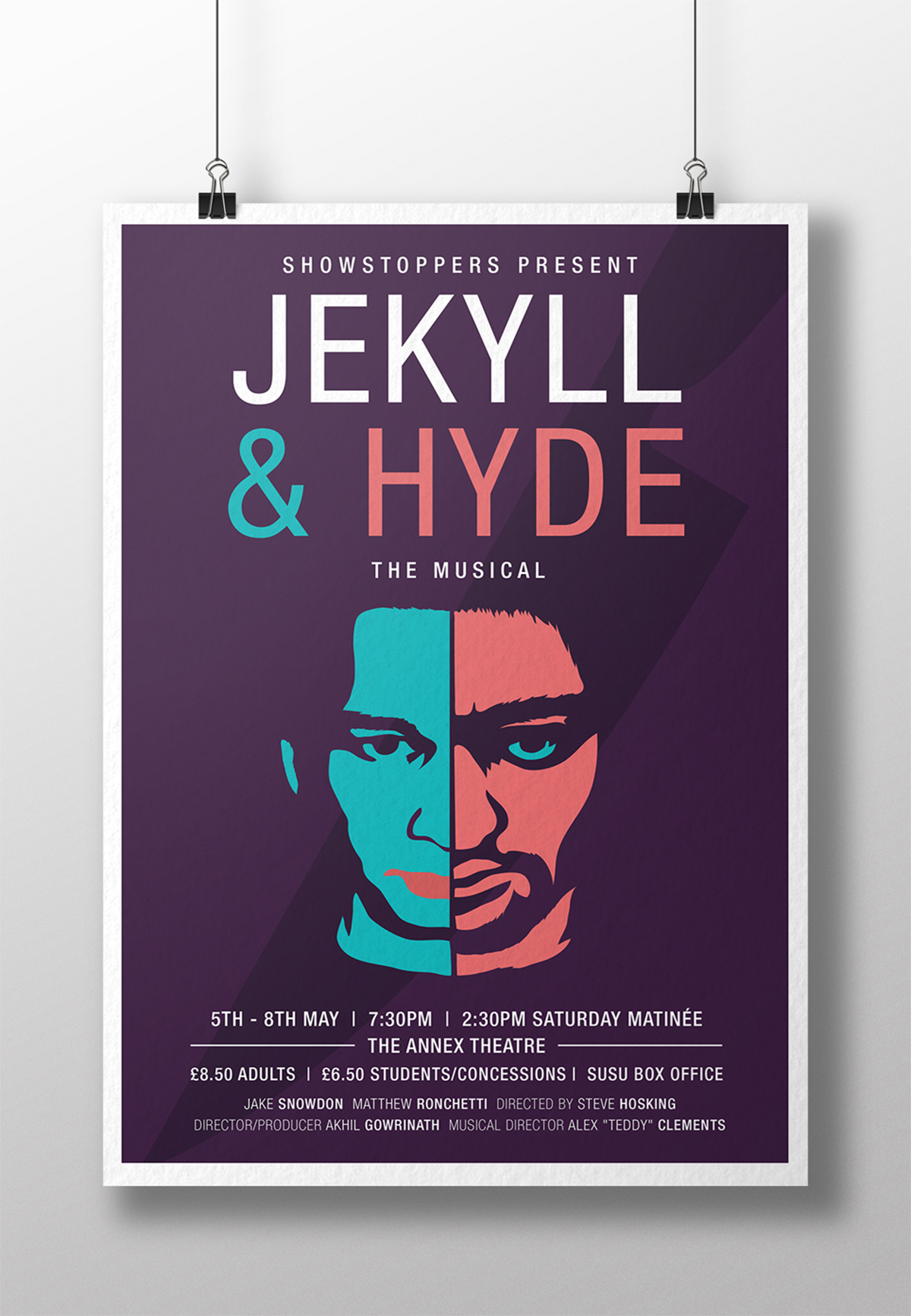 Jekyll Hyde poster