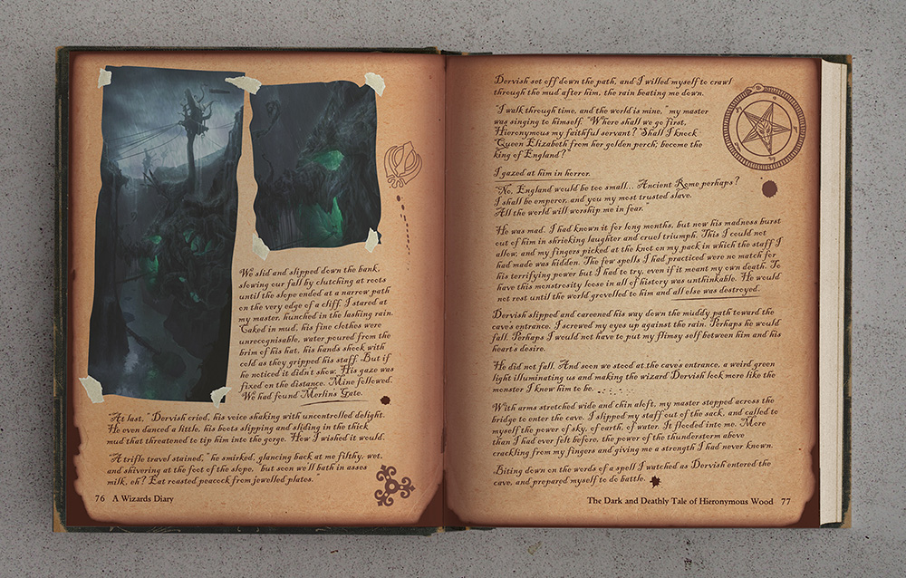 Wizards Diary Spread 2 lo res