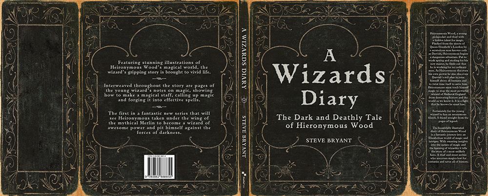 Wizards Diary jkt flat