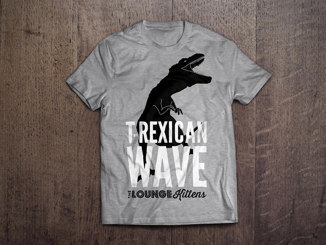 LK shirt TREX grey