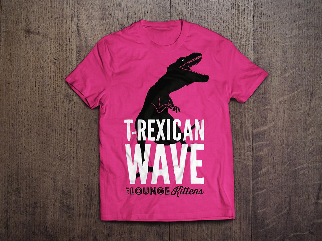 LK shirt TREX pink