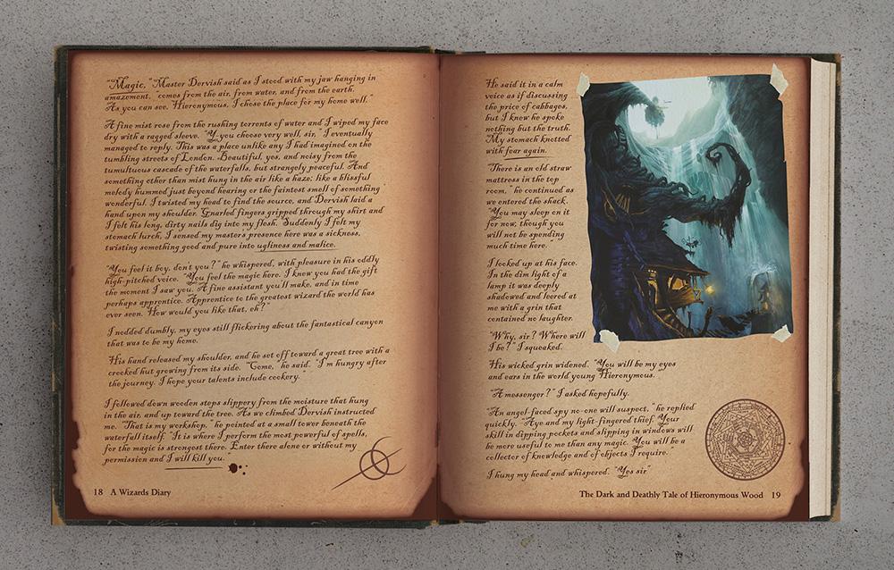 Wizards Diary Spread 1 lo res