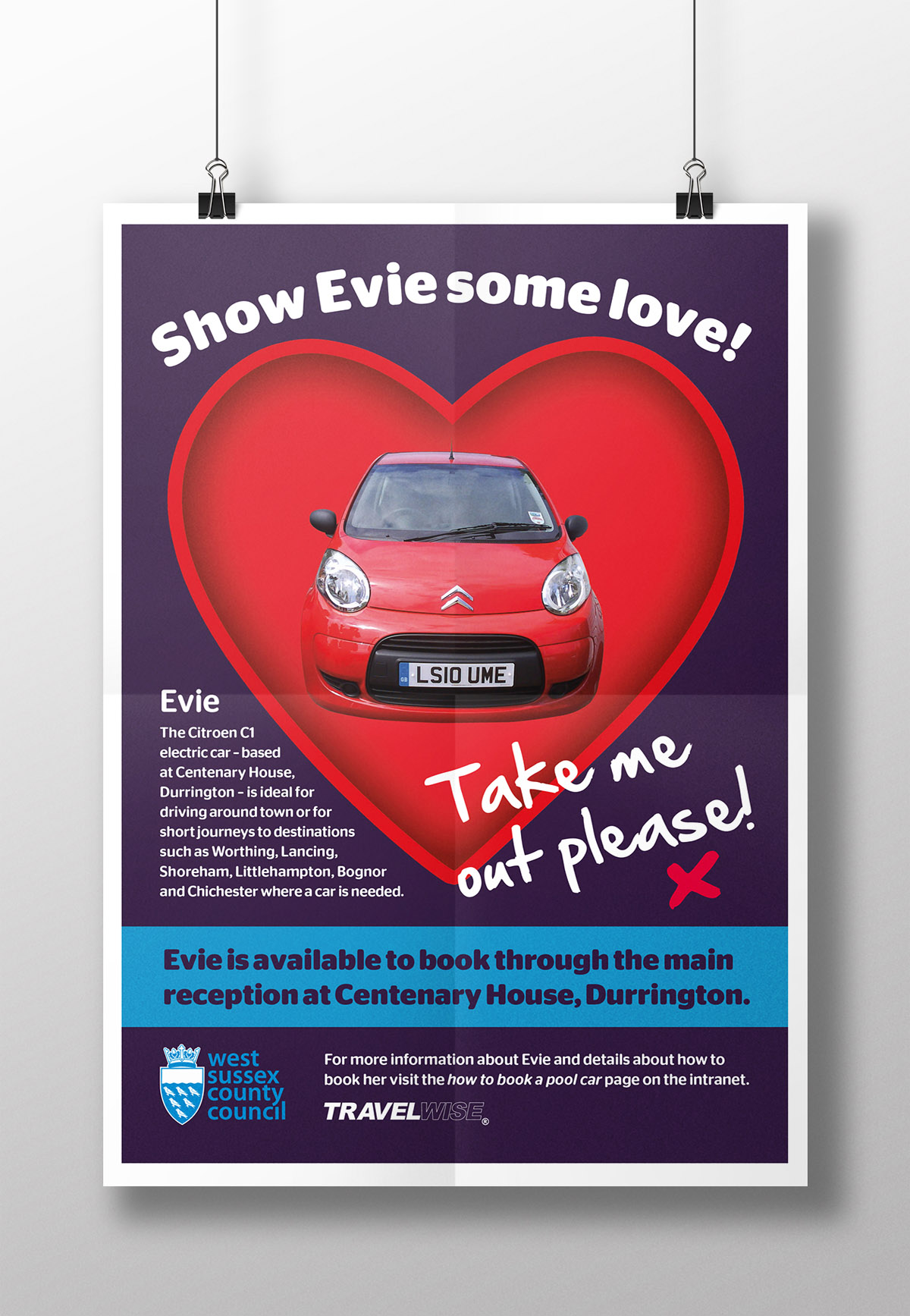 Evie poster mockup NEW