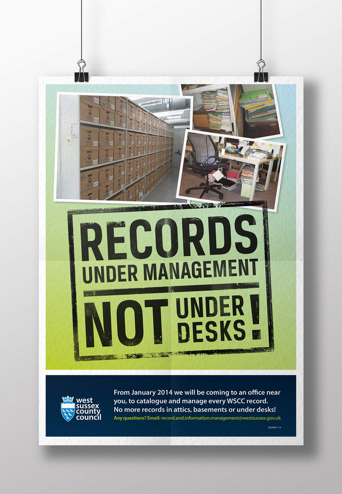 Records Management poster